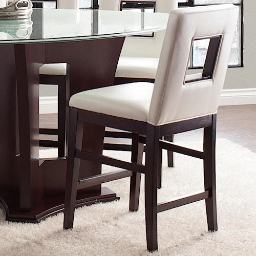Najarian Soho Modern Upholstered Counter Height Stool