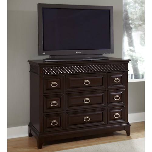 Najarian Sonoma TV Chest with Nine Drawers