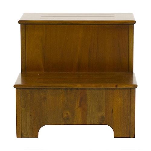 Napa Furniture Designs Boston Brownstone Step Stool Homeworld Furniture Ottoman