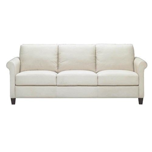 Natuzzi Editions B580 Contemporary 3 Seat Stationary Sofa