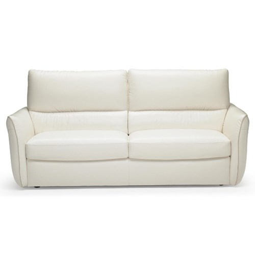 Natuzzi Editions B842 Modern Two Cushion Sofa