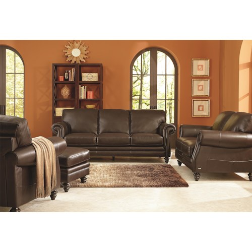 Natuzzi Editions B868 Stationary Living Room Group