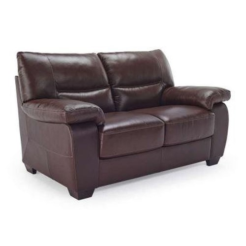 Natuzzi Editions B870 Casual Loveseat with Pillow Arms