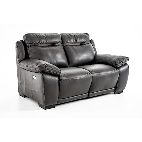 Natuzzi Editions B875 Casual Reclining Love Seat