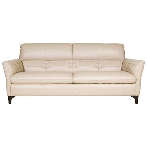Natuzzi Editions Romualdo Contemporary Sofa with Tufted Back