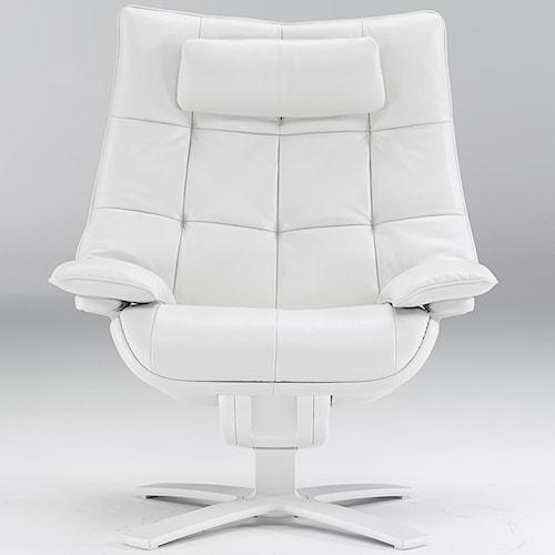 Natuzzi Re-vive 600 Model Contemporary Swivel Recliner Chair