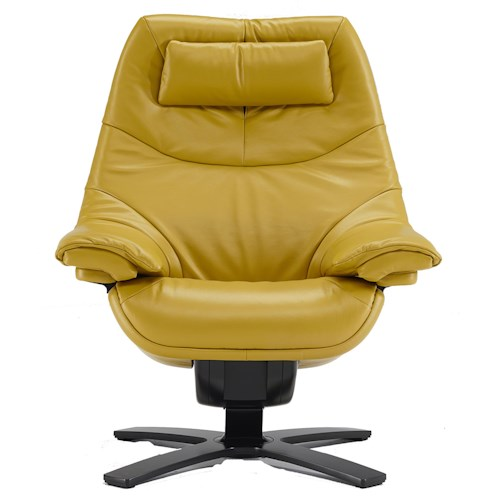 Natuzzi Re-vive 602 Model Contemporary Swivel Recliner