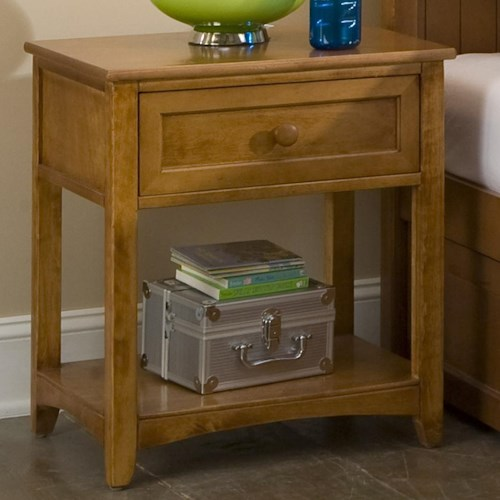 NE Kids School House Night Stand w/ Drawer
