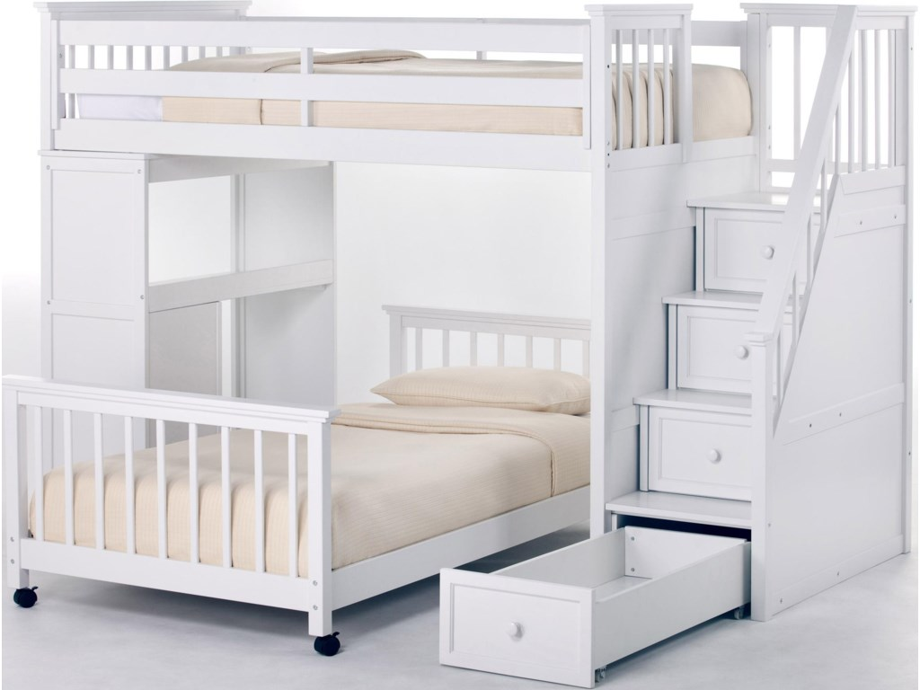 Shown with Stairs Loft Bed