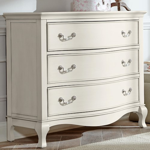 NE Kids Kensington Single Dresser with 3 Drawers