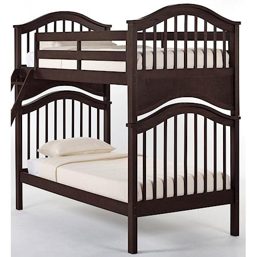 NE Kids School House Jordan Twin over Twin Bunk Bed