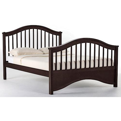 NE Kids School House Full Jordan Child's Bed