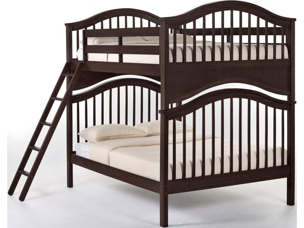 Shown as Bunk Bed with Ladder