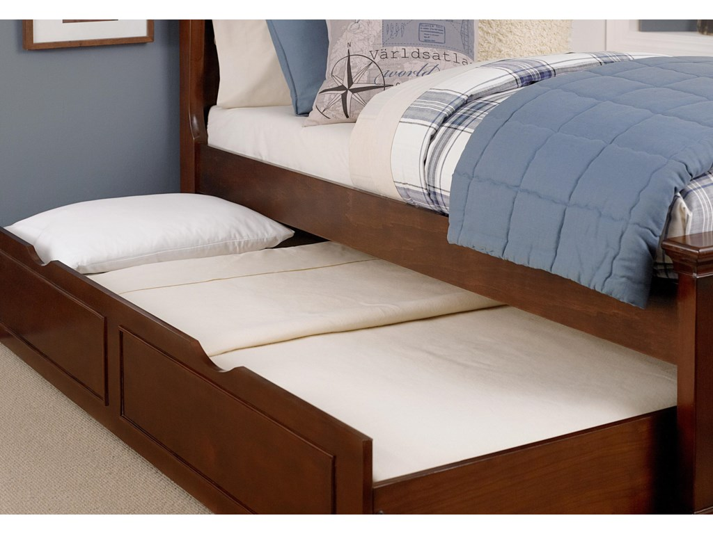 Easy Movement with Four In Line Wheels and Wooden Slats for Mattress Support