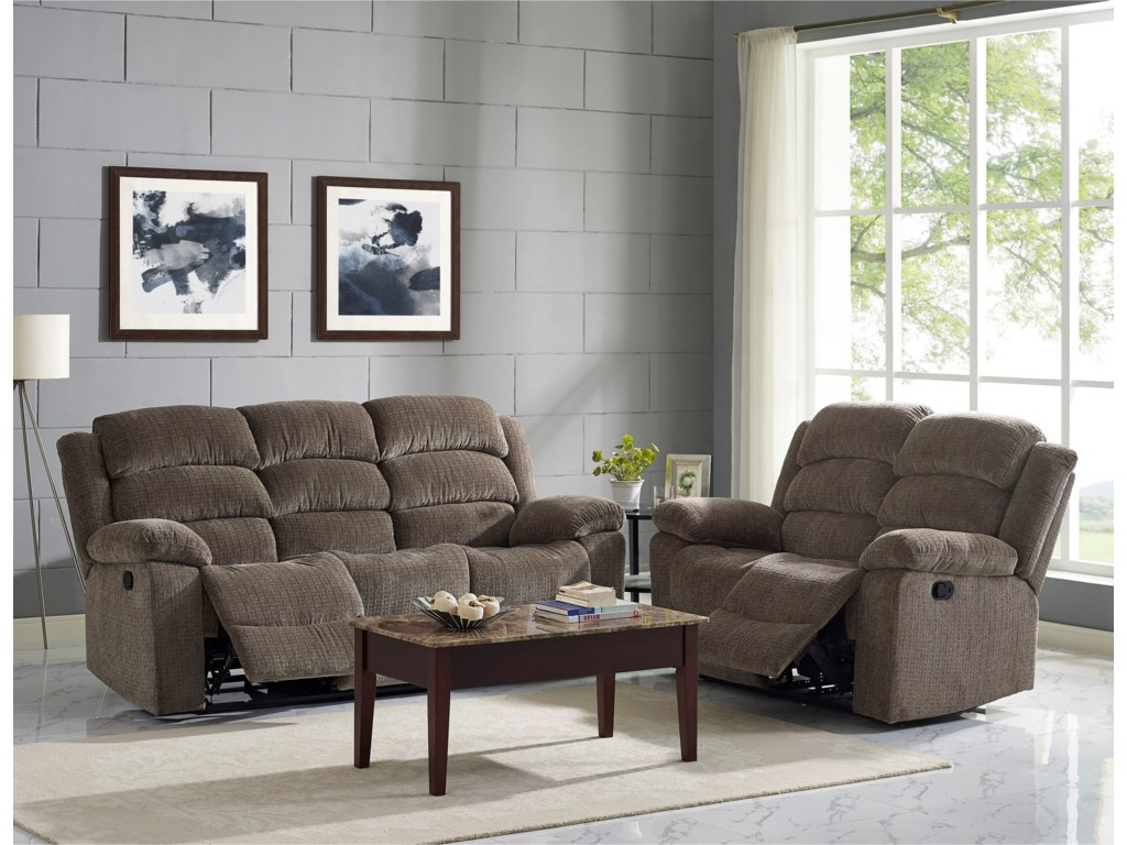 Living Room Furniture Austin New Classic Austin Casual Reclining Sofa With Bustle Back Del