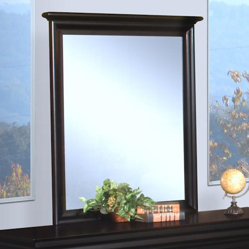 New Classic Belle Rose Youth Youth Mirror w/ Beveled Glass