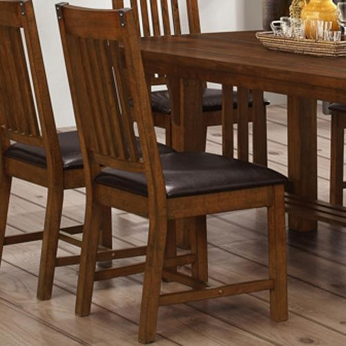 New Classic Buchanan Dining Side Chair with Slat Back
