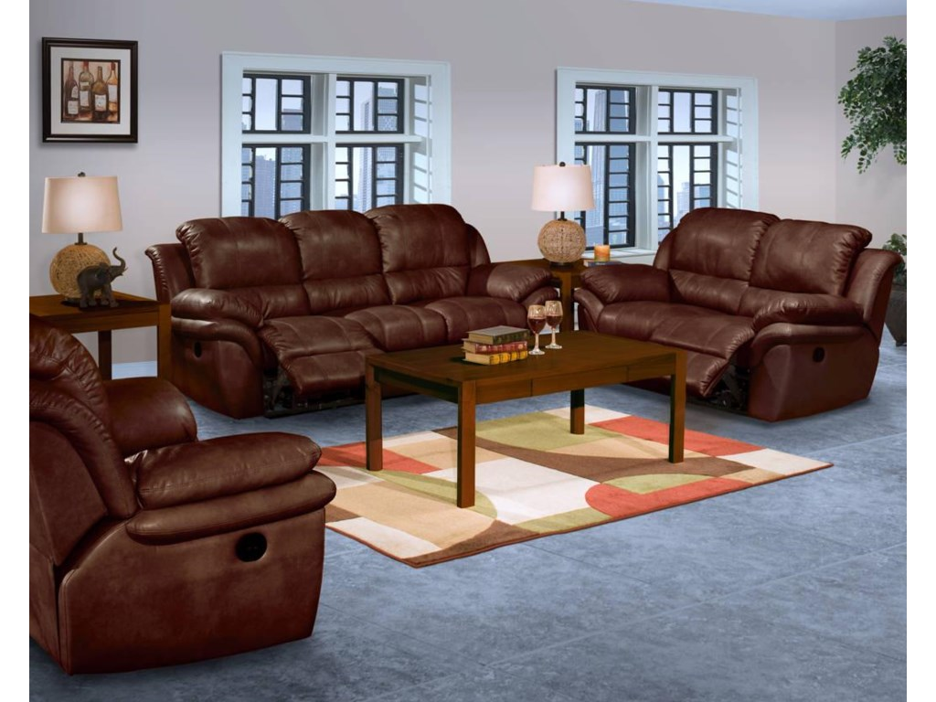 Shown with Sofa, Recliner, Cocktail Table, and End Table