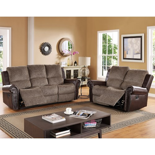 New Classic Callahan Reclining Living Room Group