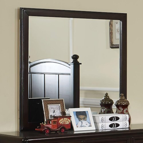 New Classic Canyon Ridge Transitional Framed Mirror
