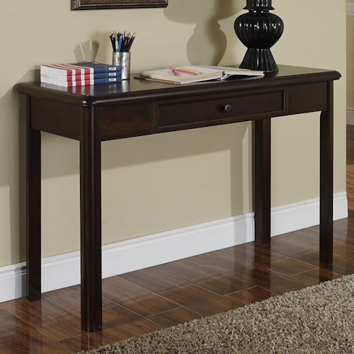 New Classic Canyon Ridge Transitional One Drawer Table Desk
