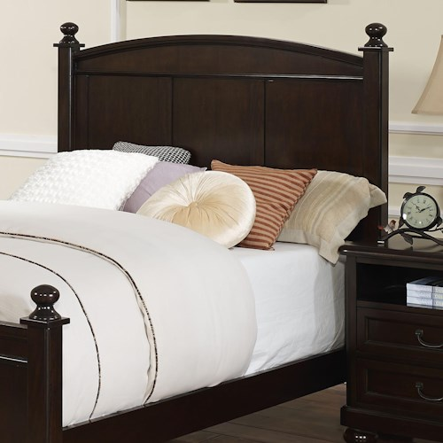 New Classic Canyon Ridge Transitional Full Panel Bed Headboard