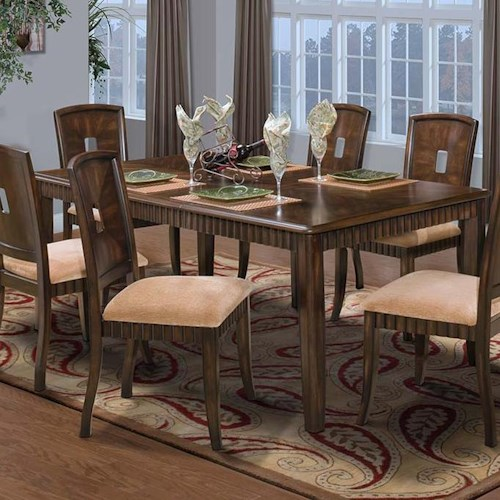 New Classic Edgemont Standard Dining Table