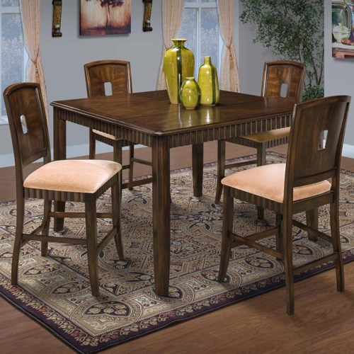 GLASS TOP DINING TABLE FWLN707x35x30  Amazoncom