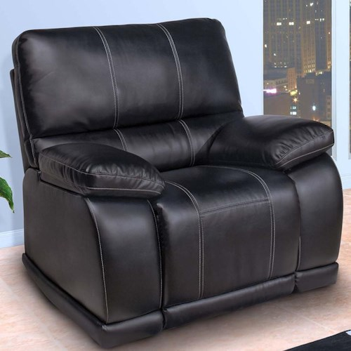 New Classic Electra  Contemporary Power Motion Recliner with Pillow Arms