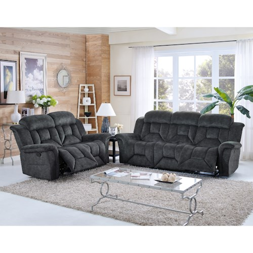 New Classic Jemma Reclining Living Room Group
