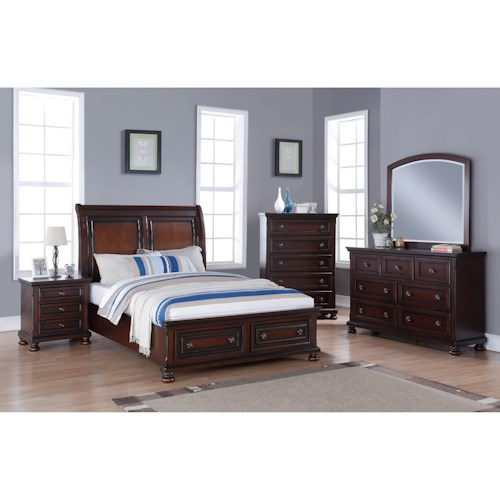 New Classic Jesse California King Bedroom Group