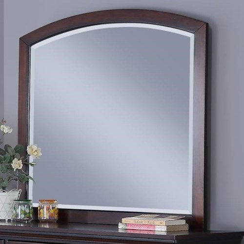 New Classic Jesse Arched Dresser Mirror with Wood Frame