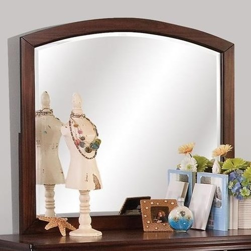 New Classic Jesse Youth Dresser Mirror with Arched Frame