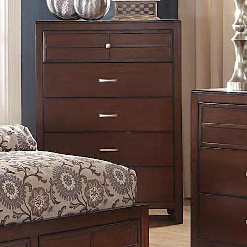 New Classic Kensington Five-Drawer Bedroom Chest