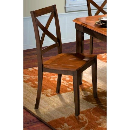 New Classic Latitudes X-Back Dining Side Chair