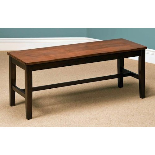 New Classic Latitudes Standard Height Dining Bench