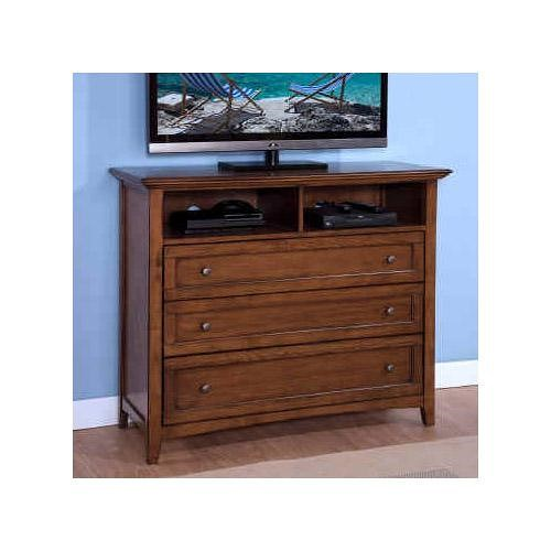 New Classic Logan Media Console with 3 Drawers and 1 Shelf