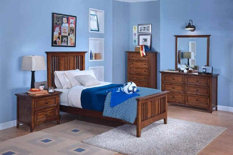 Shown with Youth Nightstand, Youth Chest, Youth Dresser and Mirror