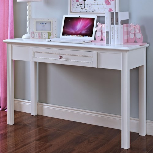 New Classic Megan Casual One Drawer Table Desk