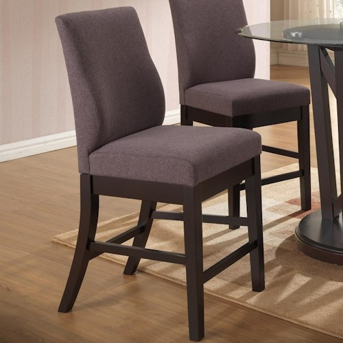 New Classic Natasha Natasha Counter Chair with Foam Cushioned Seat