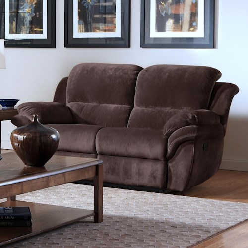 New Classic Pebble Power Dual Recliner Love Seat
