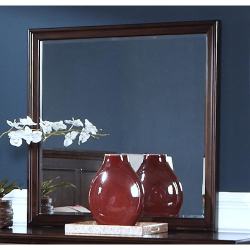 New Classic Prescott Square Mirror w/ Beveled Glass