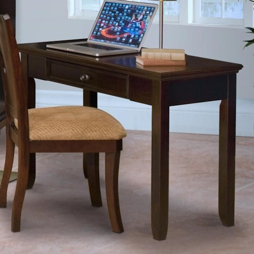 New Classic Prescott One Drawer Desk with Tapered Legs