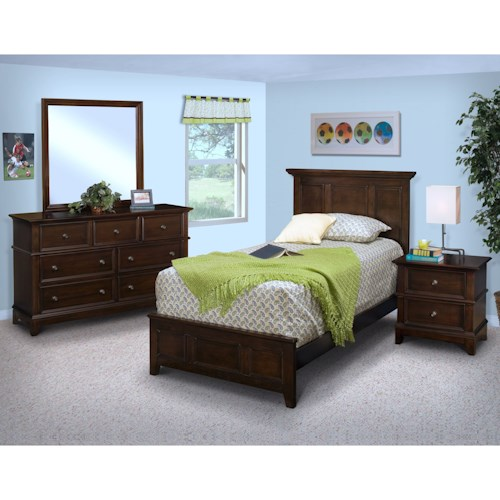 New Classic Prescott Full Bedroom Group
