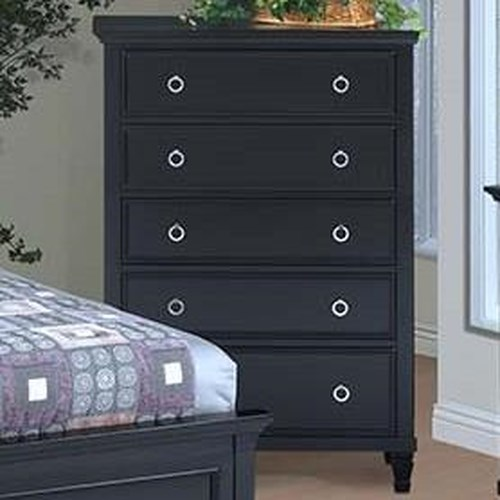 New Classic Tamarack Five-Drawer Dressing Chest