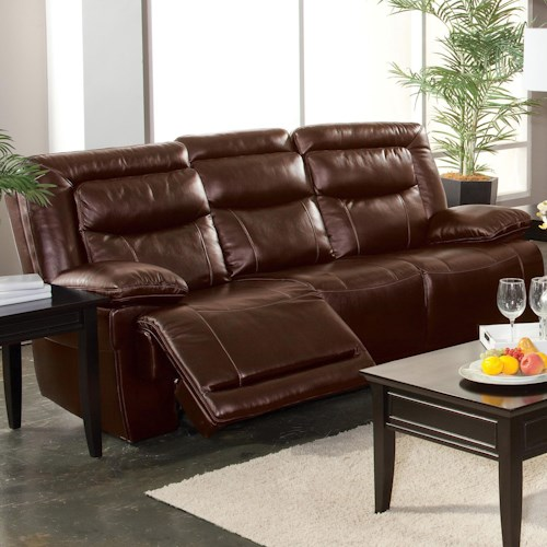 New Classic Torino Casual Dual Recliner Sofa With Hideaway Tray Beck 39 S Furniture Reclining