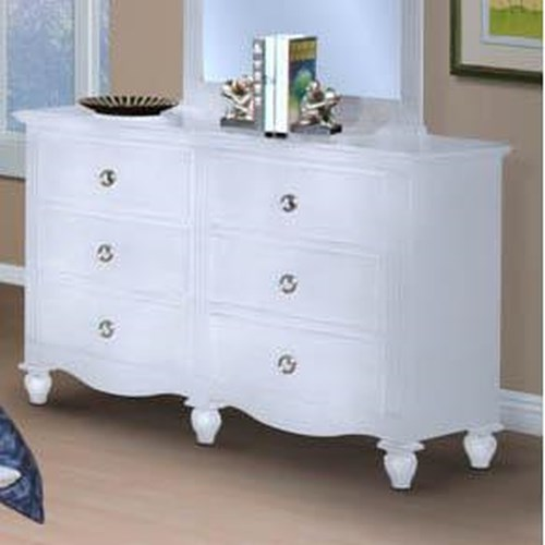 New Classic Victoria Youth 6 Drawer Dresser
