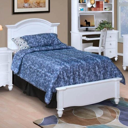 New Classic Victoria Full Headboard and Footboard Bed