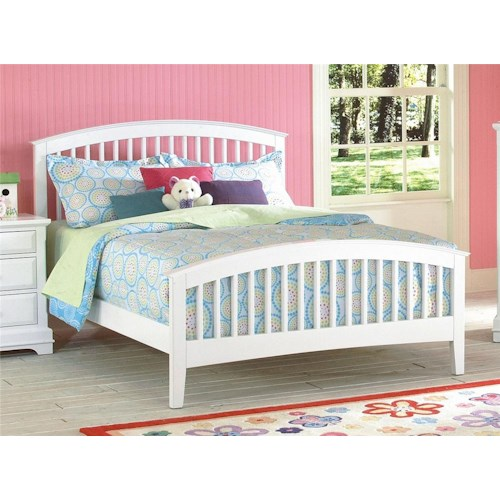 New Classic Bayfront Full Slat Bed