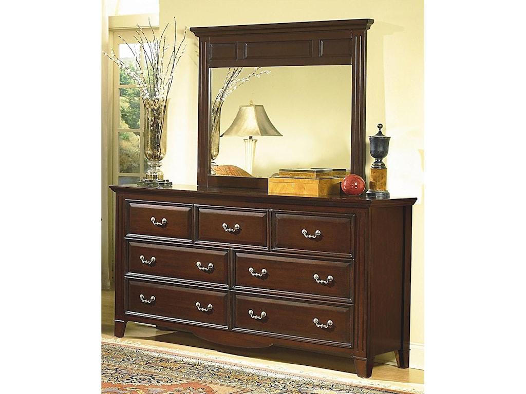 Dresser Shown with Mirror.